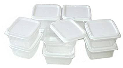 Amazoncom Sure Fresh Mini Storage Containers 10 ct Packs