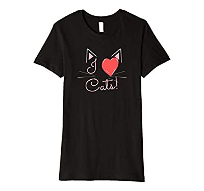 Womens I Heart Cats