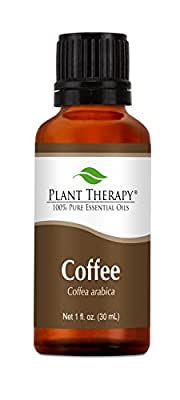 Coffee Essential Oil. 30 ml (1 oz). 100% Pure, Undiluted, Therapeutic Grade.