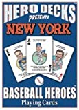 New York Baseball Heroes (NL) : Playing Cards, , 0976537583