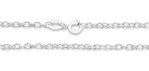 Miore - MIN915N - Collier - Femme - Or Blanc 9 Cts 375/1000 2.71 Gr - Saphir