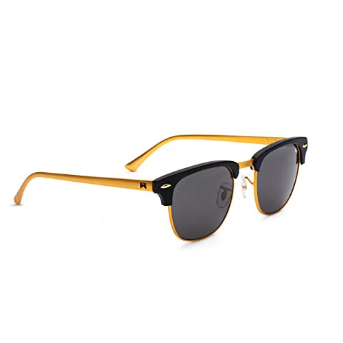 William Painter- The Empire Polarized 'Signature' Sunglasses (Gold & Black)