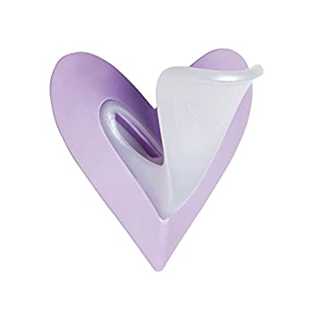 44ed96d44 Image Unavailable. Image not available for. Color  Ladyshape Heart Shaving  Stencil Bikini Shaping Tool ...