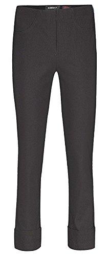 Pantaloni 40 Robell Donna Straight Nero Zqdqn1wxp4