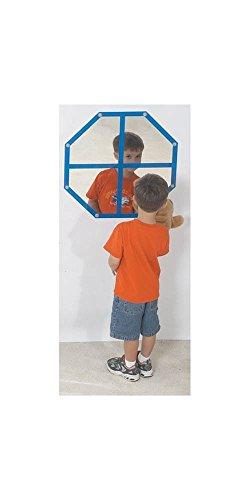 Octagon Windowpane Mirror by Children's Factory