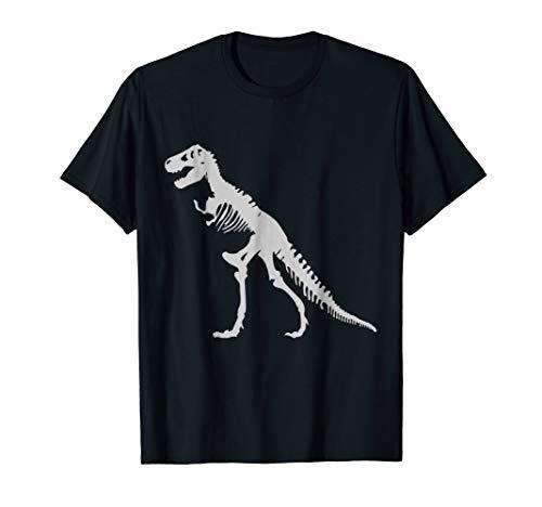 T-REX SKELETON SHIRT Tyrannosaurus Rex Dinosaur Bones Tee -