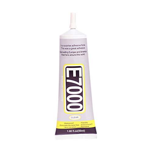 COM1950s E7000 Needle Type Phone Screen Glue DIY Jewelry Beauty Drill Adhesive Multi-Purpose Glue for Repairing Glue (Blue, B)