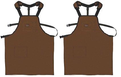80300 Bucket Boss Duckwear SuperShop Work Apron in Brown