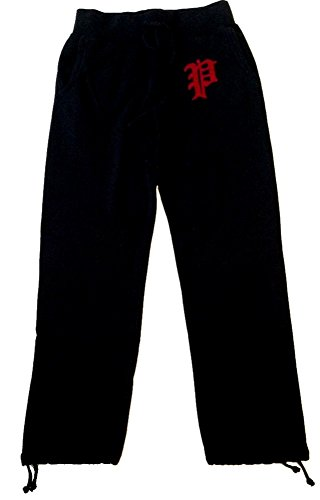 Drawstring Embroidered Sweatpants - 4