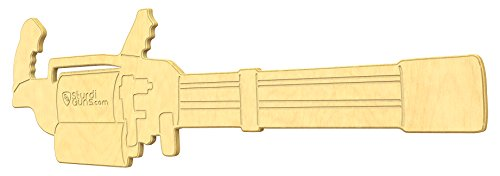 SturdiGuns Kids Minigun Wooden Toy Gun with, made in for sale  Delivered anywhere in USA
