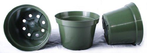 13 NEW 8 Inch Azalea Plastic Nursery Pots ~ Pots ARE 8 Inch Round At the Top and 5.6 Inch Deep. by Azalea