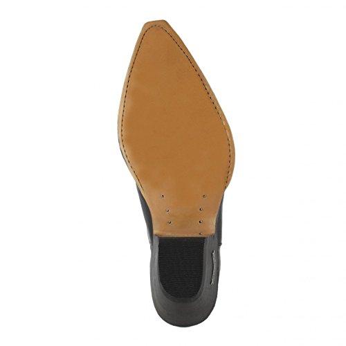 Sendra Boots1692 - Stivali western Unisex – adulto Nero (Nero)