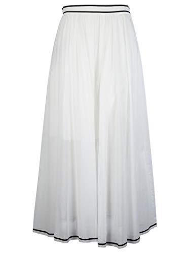 Coton 01062121A0002 Jupe Philosophy Femme Blanc wx0Xqn1T8