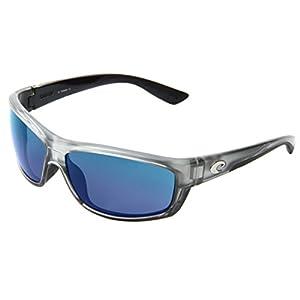 Costa Del Mar Saltbreak Sunglasses, Silver, Blue Mirror 580Plastic Lens