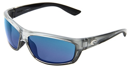 Costa Del Mar Saltbreak Sunglasses, Silver, Blue Mirror 580Plastic - For Men Costa Sunglasses