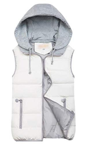 ホイッスルハードリングボットFly Year-JP 女性のコートは、スリムパフコットンパッド付き袖袖ノースリーブ冬ベスト