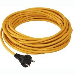 Staubsaugerkabel Numatic Zuleitung 3-adrig 15 m HFM gelb für HFM, 15 m x 1,5 mm