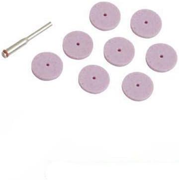 Silverline 675196 Schleifscheiben, Aluminiumoxid, 9-teiliges Set