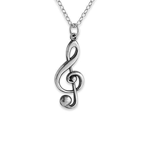 925-sterling-silver-treble-clef-charm-pendant-necklace-14-inches