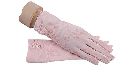 formanism エレガント 大人上品 ガーリー シックカラー 紫外線防止 UV サマー手袋 レディース (E)