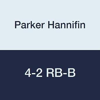 Parker 4-2 RB-B - Embellecedor para tubería de latón, reducción de