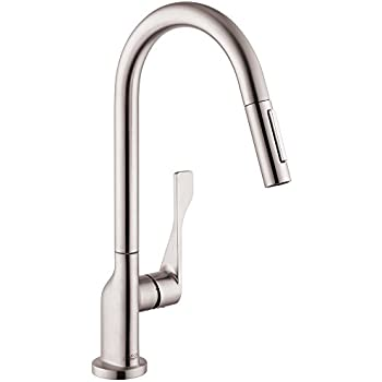 Axor 39835801 Citterio Kitchen Faucet Steel Optik Touch