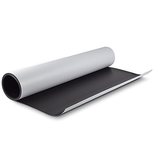 "Wall26 24""x 60"" (2 by 5 feet) .30mil Super Strong Flexible Magnet Material"