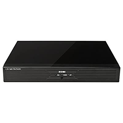 ZOSI New 4CH H.264 Security DVR 720P AHD Recording live online Viewing supported via smartphone Anytime-Big Sale!!!!