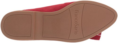 Flat Women's Augustine Loafer Red Sarto Franco Vintage PRqwUW