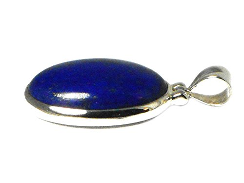 Afghanistani Lapis Lazuli Argent sterling 925Pendentif-(Llpt1101171)