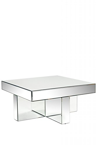 Statements by J MF536 Lucy Mirrored Coffee Table