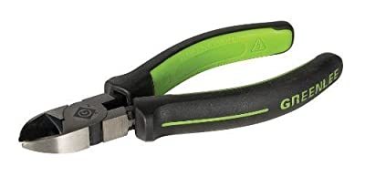 Greenlee 0251-05M Diagonal Cutting Pliers, Mini Molded Grip, 5 by Greenlee