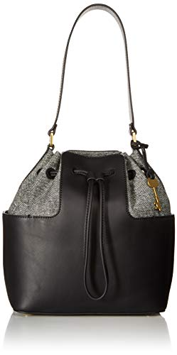 Fossil Cooper Bucket Bag, Black from Fossil