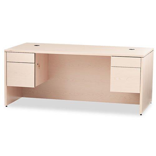 HON 10500 Series Double Pedestal Desk, 72