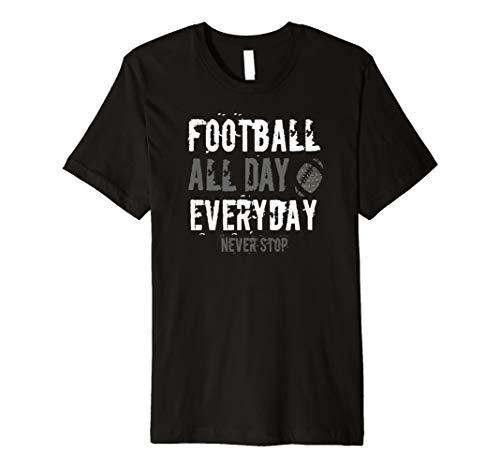 NEW Football All Day Everyday Shirt Fantasy Sports Fan ()
