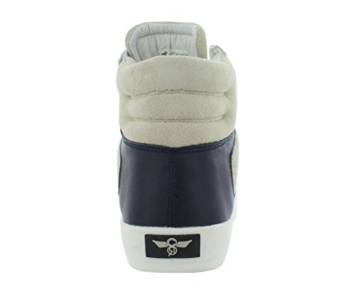 Kreativa Rekreation Mens Moretti Mode Sneaker Beige / Svart
