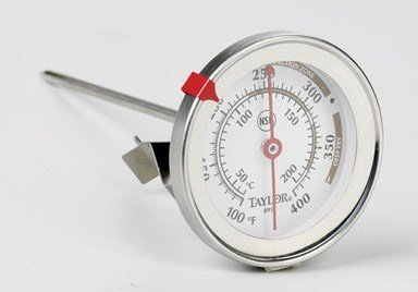 Taylor Classic Candy/Deep- Fry Thermometer 100 To 400 Deg F 2-1/4