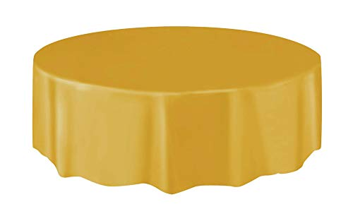 (Round Plastic Tablecloth, 84