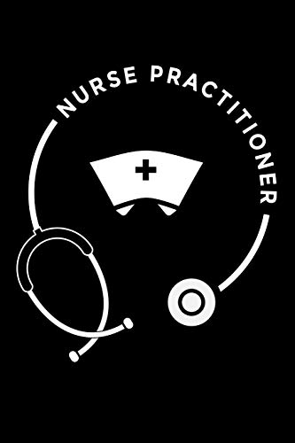 Journal: Nurse Practitioner Nursing Medical Black Lined Notebook Writing Diary - 120 Pages 6 x 9 por InGENIUS Publications