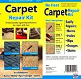 carpet color repair kit - Carpet Repair Kit. Repair Burns and Other Damage on Your Auto, Home, Office Carpet Do It Yourself and Save Money