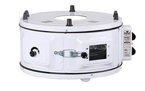 Itimat - Horno Rundofen XL con termostato redondo, color blanco ...
