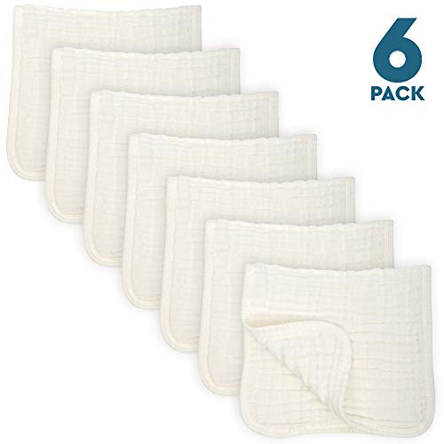 Muslin Cloths Cotton Layers Absorbent product image