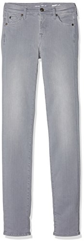 Donna All For Jeans Rise grey Roxanne Grigio Mankind Mid 7 cSp7n5qTT