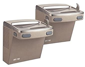Sunroc ADA8ACB Split Level 8 GPH Refrigerated Drinking Fountain, Chilled Bi-Level Water Cooler