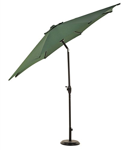 UV Blocking 9FT Patio Umbrella Aluminum Crank Tilt Outdoor Yard Beach/ Green - Center At Shops Orchard Town