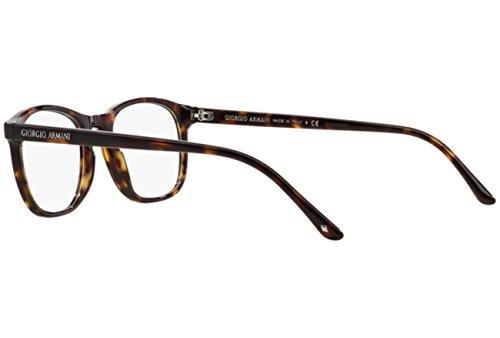 Giorgio Armani Montures de lunettes 7003 Pour Homme Matte Black, 50mm 5026: Tortoise