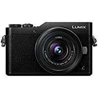 PANASONIC LUMIX GX850 4K Mirrorless Camera with 12-32mm MEGA O.I.S. Lens, 16 Megapixels, 3 Inch Touch LCD, DC-GX850KK (USA BLACK)