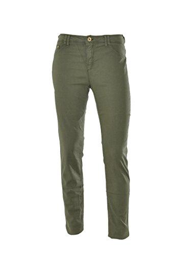 ARMANI JEANS Pantaloni donna con logo in metallo