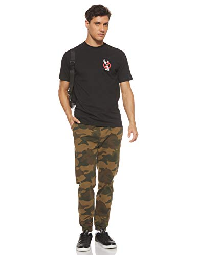 Vans T-Shirt Maniche Corte UOMO Zero Forks SS Black M: Amazon.es ...