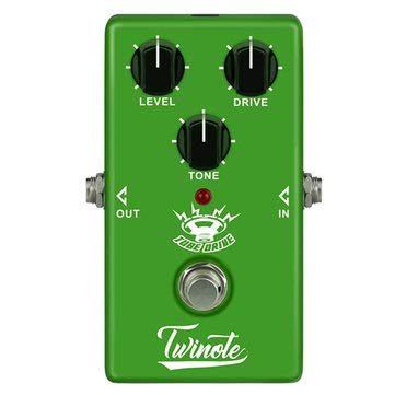 Pedal Electric Guitar Vintage Tube Overdrive Zoom Effect Expression - 1PCs